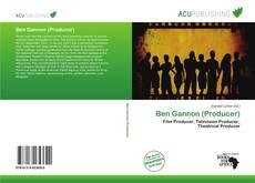 Ben Gannon (Producer) kitap kapağı