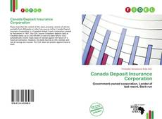 Bookcover of Canada Deposit Insurance Corporation