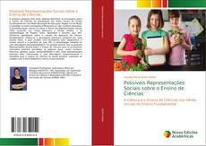 Capa do livro de Possíveis Representações Sociais sobre o Ensino de Ciências