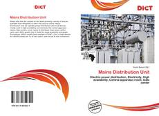 Bookcover of Mains Distribution Unit