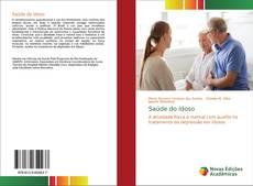 Capa do livro de Saúde do idoso
