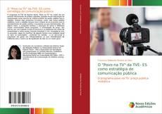 """Capa do livro de O """"Povo na TV"""" da TVE- ES como estratégia de comunicação pública"""