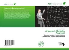 Couverture de Argument (Complex Analysis)