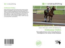 Capa do livro de Endeavour Stakes