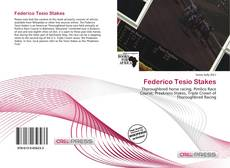 Federico Tesio Stakes kitap kapağı