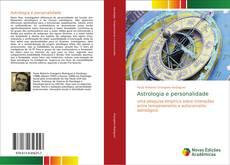 Buchcover von Astrologia e personalidade