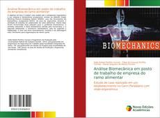 Buchcover von Análise Biomecânica em posto de trabalho de empresa do ramo alimentar