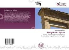 Bookcover of Antigone of Epirus