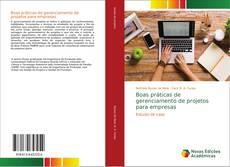 Portada del libro de Boas práticas de gerenciamento de projetos para empresas