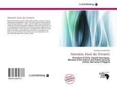 Bookcover of Antonio José de Irisarri