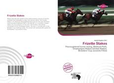 Bookcover of Frizette Stakes