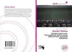 Bookcover of Gander Stakes