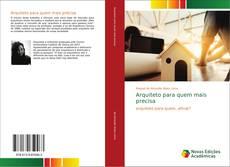 Capa do livro de Arquiteto para quem mais precisa