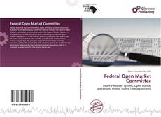 Bookcover of Federal Open Market Committee
