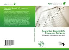 Buchcover von Guarantee Security Life Insurance Company