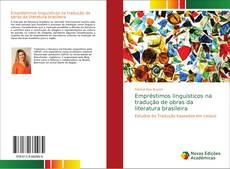 Capa do livro de Empréstimos linguísticos na tradução de obras da literatura brasileira