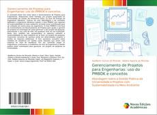 Capa do livro de Gerenciamento de Projetos para Engenharias: uso do PMBOK e conceitos