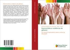 Bookcover of Feminicídio e violência de gênero