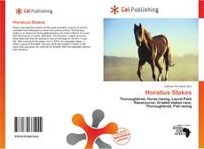 Bookcover of Horatius Stakes