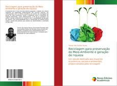 Portada del libro de Reciclagem para preservação do Meio Ambiente e geração de riqueza