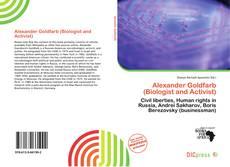 Обложка Alexander Goldfarb (Biologist and Activist)