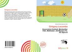 Buchcover von Grégory Lacombe
