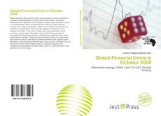 Portada del libro de Global Financial Crisis in October 2008