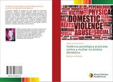 Buchcover von Violência psicológica praticada contra a mulher no âmbito doméstico