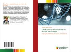 Capa do livro de Desafios e possibilidades no ensino de Biologia