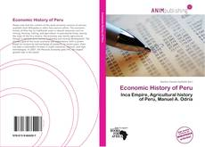 Copertina di Economic History of Peru