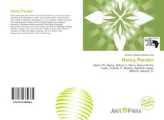 Bookcover of Henry Ponder