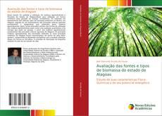 Capa do livro de Avaliação das fontes e tipos de biomassa do estado de Alagoas