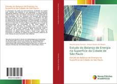 Capa do livro de Estudo do Balanço de Energia na Superfície da Cidade de São Paulo