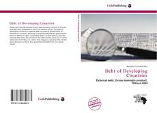 Bookcover of Debt of Developing Countries