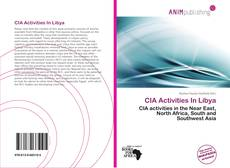 CIA Activities In Libya kitap kapağı