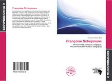 Bookcover of Françoise Schepmans