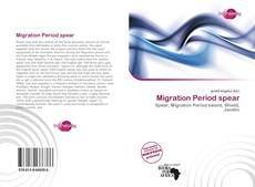 Bookcover of Migration Period spear