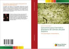 Portada del libro de Concertino para Clarinete e Orquestra de Câmara de José Siqueira