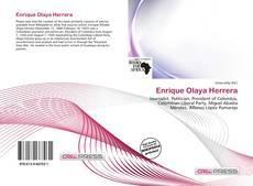 Portada del libro de Enrique Olaya Herrera