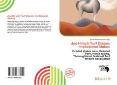Portada del libro de Joe Hirsch Turf Classic Invitational Stakes