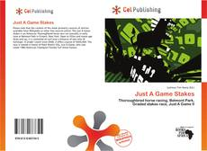 Bookcover of Just A Game Stakes