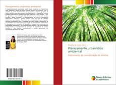 Portada del libro de Planejamento urbanístico ambiental