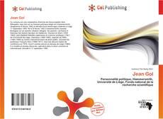 Bookcover of Jean Gol