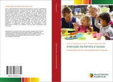 Capa do livro de Interação da família e escola