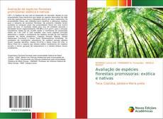 Capa do livro de Avaliação de espécies florestais promissoras: exótica e nativas