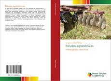 Capa do livro de Estudos agronômicas