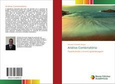 Bookcover of Análise Combinatória