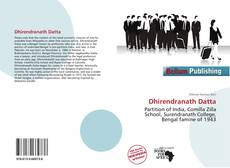 Bookcover of Dhirendranath Datta
