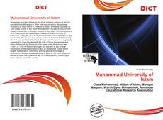 Copertina di Muhammad University of Islam
