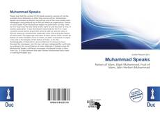 Bookcover of Muhammad Speaks